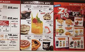 Pastel Nata do KFC em França