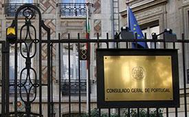 Consulado de Portugal em Paris, França
