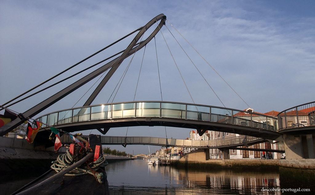Ponte pedonal do canal