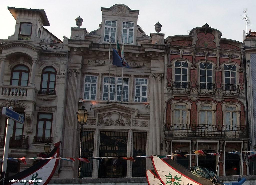 Fachadas do centro histórico, Arte Nova