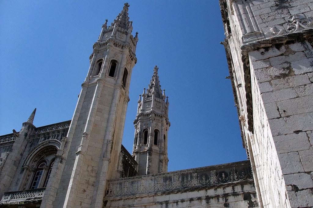 Torres do mosteiro