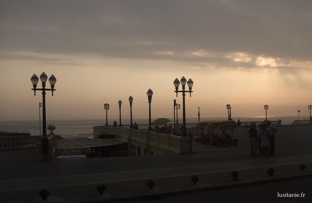 Beira mar no Porto