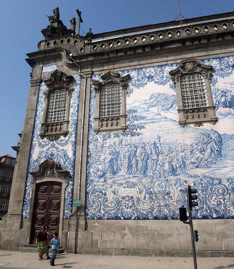 Painéis de azulejos, obra de Silvestre Silvestri