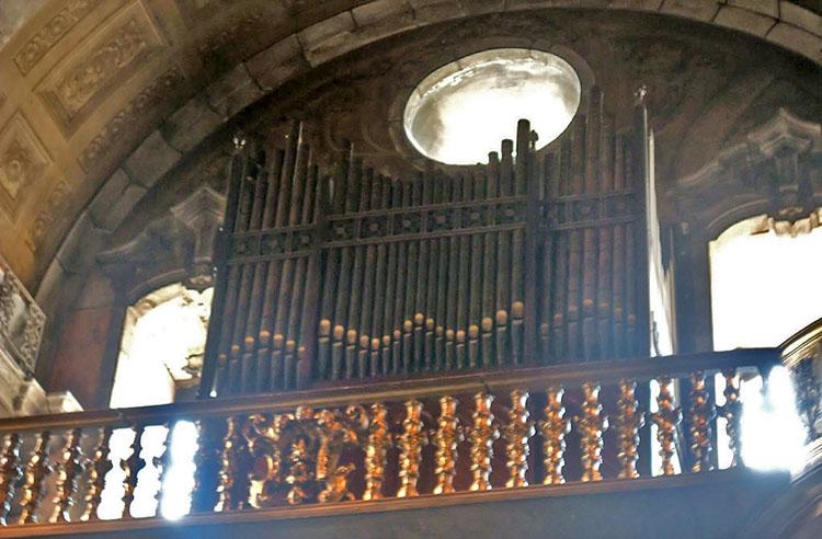 Orgão da igreja