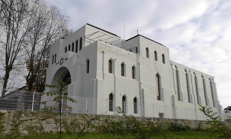 Sinagoga, vista exterior