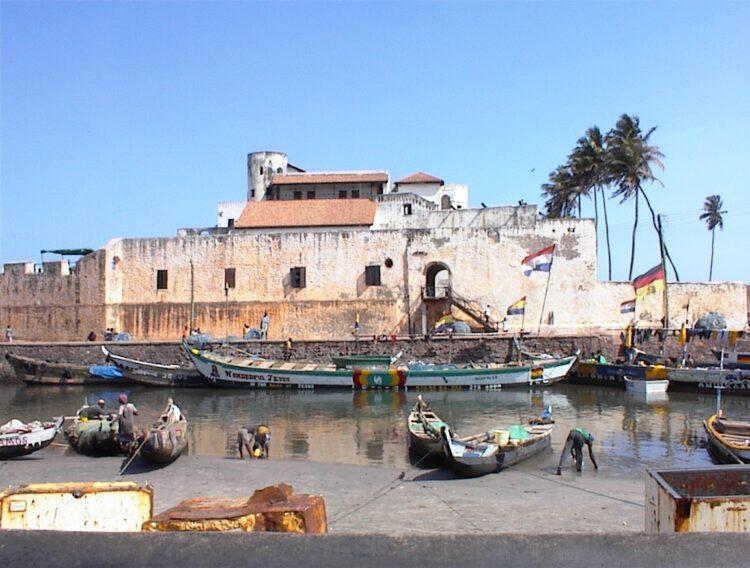 Castelo da Mina, no Gana atual
